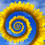 Abstract sunflower spiral stock photo © BSANI