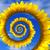 zon · spiraal · eenvoudige · aquarel · illustratie · abstract - stockfoto © bsani