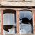 fából · készült · fal · öreg · elpusztított · ház · törött - stock fotó © bsani