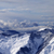panoramic view on winter mountains in clouds stock photo © bsani