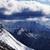 panoramique · vue · pente · neige · région - photo stock © bsani