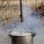 cozinhar · caldeirão · fogueira · primavera · floresta · fogo - foto stock © bsani