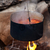 pot with soup cooking on campfire stock photo © bsani