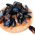 shells of mussels on cutting board stock photo © bsani