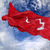 турецкий · флаг · флагшток · ветер - Сток-фото © bsani