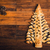 christmas tree cake on wooden table stock photo © bubutu