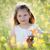 девочку · луговой · белый · Летние · цветы · Cute - Сток-фото © bubutu