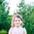 портрет · возбужденный · девочку · рождения · Hat - Сток-фото © bubutu