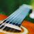 akoestische · gitaar · brug · macro · ondiep · veld - stockfoto © bubutu
