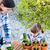 девушки · цветок · ребенка · садоводства · матери - Сток-фото © bubutu