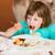 pancake · frutti · zucchero · a · velo · fragola · colazione - foto d'archivio © bubutu