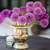allium flowers bouquet in a stylish decorative vase stock photo © bubutu