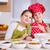 szczęśliwy · dziewczynka · gotować · portret · uśmiech · dziecko - zdjęcia stock © bubutu