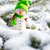 счастливым · снеговик · снега · зима · Рождества · улыбаясь - Сток-фото © bubutu