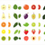набор · фрукты · лист · яблоко · лет · цвета - Сток-фото © Bunyakina_Nady