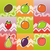 set of funny fruit stock photo © bunyakina_nady