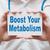 fortalecimento · metabolismo · cartão · texto · médico · mãos - foto stock © burtsevserge