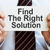 find the right solution stock photo © burtsevserge