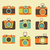 Retro photo camera icons set stock photo © burtsevserge