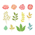 renkli · toplama · yaprakları · çiçekler - stok fotoğraf © burtsevserge