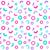 Seamless Pattern background in retro 80s geometric style stock photo © burtsevserge