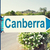 canberra australia road sign stock photo © burtsevserge