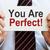 You Are Perfect stock photo © burtsevserge