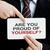 gururlu · kendiniz · işadamı · kart · mesaj - stok fotoğraf © burtsevserge