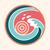 oceano · onda · sol · logotipo · verão · pôr · do · sol · surfe - foto stock © burtsevserge