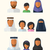Arabic Families stock photo © burtsevserge