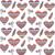 dekoratív · kisebbségi · szeretet · szív · minta · vektor - stock fotó © burtsevserge