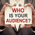 Who is your audience stock photo © burtsevserge