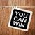 you can win stock photo © burtsevserge