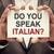 falar · italiano · homem · terno - foto stock © burtsevserge