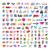 коллекция · вектора · Логотипы · торговых · карт · деньги - Сток-фото © butenkow