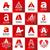 büyük · ayarlamak · vektör · logolar · imzalamak - stok fotoğraf © butenkow