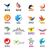 big set of vector logos birds stock photo © butenkow
