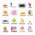 toplama · vektör · logolar · ayakkabı · iş · kadın - stok fotoğraf © butenkow