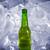 ボトル · おいしい · ドリンク · 氷 · 光 · 金 - ストックフォト © butenkow
