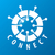 round vector logo chip network stock photo © butenkow