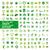 büyük · ayarlamak · vektör · logolar · ekoloji · sağlık - stok fotoğraf © butenkow