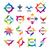 большой · набор · вектора · логотип · письме · знак - Сток-фото © butenkow