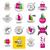 grande · conjunto · vetor · logos · tecnologia · escritório - foto stock © butenkow