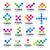 big collection of vector logos modules stock photo © butenkow