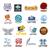 pena · conjunto · moderno · design · de · logotipo · vetor · templates - foto stock © butenkow