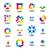 big collection of vector logos abstract modules stock photo © butenkow