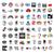 iconos · industria · computadoras · tecnología · ordenador · construcción - foto stock © butenkow