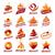 large set of vector logos desserts stock photo © butenkow