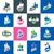 Blauw · duim · omhoog · icon · zoals · symbool - stockfoto © butenkow
