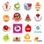 biggest collection of vector logos vitamins stock photo © butenkow